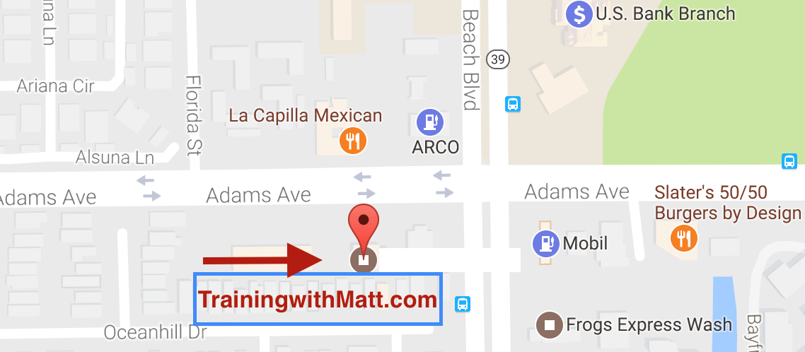 trainingwithmattlocation